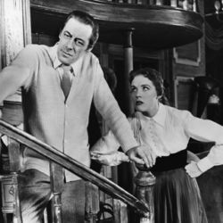 Rex Harrison with Julie Andrews in My Fair Lady