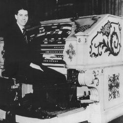 Rex Koury in the Palace Theater in Albany NY (early 1930s)