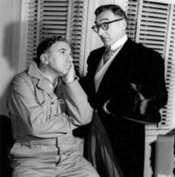 Wiliam Bendix (Chester) and John Brown (Digger O'Dell)