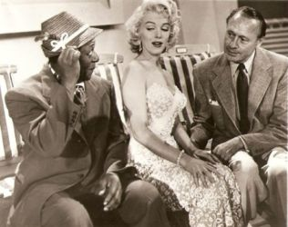 Jack and Rochester and Marilyn Monroe