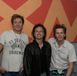 Ron Ross of The Pulse Ch. 15 with Duran Duran