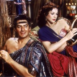 Victor Mature and Hedy Lamarr (Samson and Delilah)