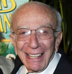 Sherwood Schwartz (writer-producer and creator of Gilligan's Island and The Brady Bunch)