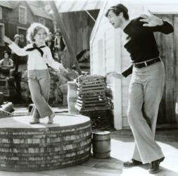 Shirley Temple and Buddy Ebsen in Captain January