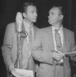 Les Damon (R) with Ken Lynch in The Falcon