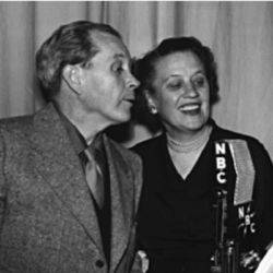 Jim and Marian Jordan (Fibber McGee and Molly)