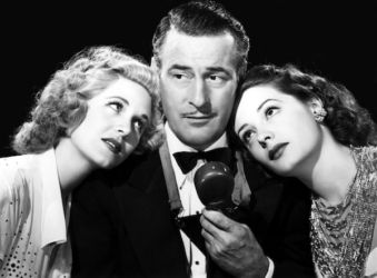 Tom Conway with Rita Corday and Jane Greer The Falcon's Alibi 1946