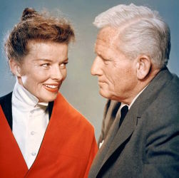 Katharine Hepburn with Spencer Tracy