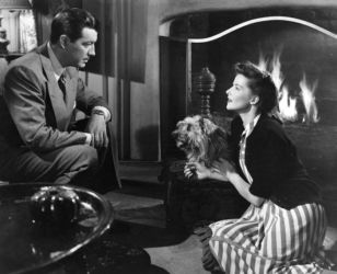 Katharine Hepburn and Robert Taylor in Undercurrent 1946