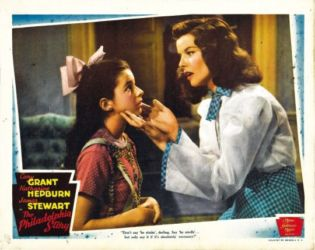 Virginia Weidler & Katharine Hepburn (The Philadelphia Story 1940)