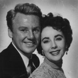 Van Johnson with Elizabeth Taylor (The Big Hangover 1950)