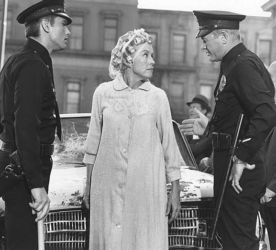 Virginia Gregg in Adam 12 with Kent McCord (L) and Martin Milner