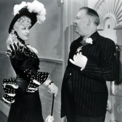 Mae West with W.C. Fields