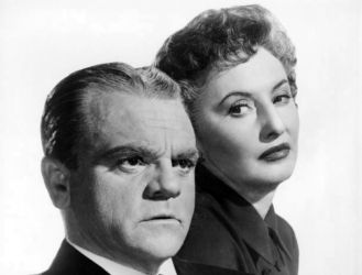 James Cagney with Barbara Stanwyck