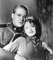 Nelson Eddy and Jeanette McDonald in Rose Marie 1936