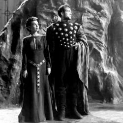 Jeanette Nolan and Orson Welles in Macbeth 1948